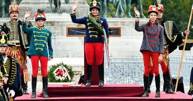 A Nemzeti vágtán Fekete Emma, Vácduka lovasa dobogós lett a kishuszár döntőben