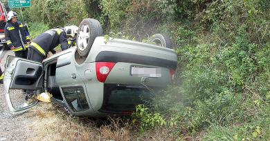 A váci rendőrkapitány látta a balesetet, elfogták a cserbenhagyó kamionost