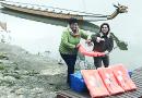 Mentőmellényeket kaptak ajándékba a sárkányhajósok a Rotary klubtól