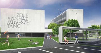 Milliárdokért épül színház Dunakeszin