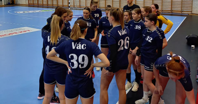Itthon nyertek a váci lányok a Debrecen ellen