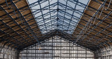 Befejeződött a tetőszerkezet építése a Nyugati pályaudvar csarnokánál