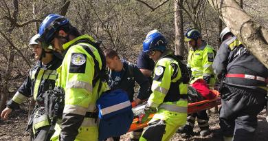 Nagyszombaton egy túrázót mentettek le Nagymaroson a hegyről