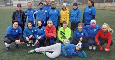 Pest megyei kupadöntős a Kék Duna SE 3/4 pályás női labdarúgó csapata