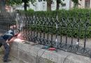 Helyreállította a Váci Városfejlesztő Kft a három éve megrongált Duna-parti korlátot