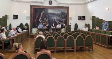 Szerdán ülésezik a városi képviselőtestület