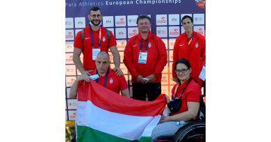 Szép eredményeket értek el a VRE válogatott paraatlétái a lengyelországi Európa-bajnokságon