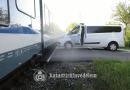 Vasúti ütközés Csörögnél, baleset Kosdon