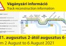 Újabb korlátozások a Budapest-Nyugati-Szob vasútvonalon