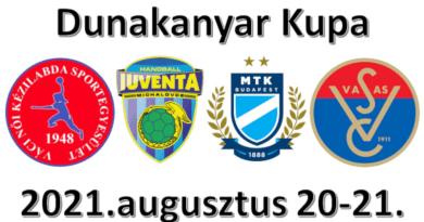 A hétvégén Dunakanyar Kupa a Városi Sportcsarnokban