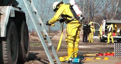 Önkéntes mentőcsoportok váci gyakorlata