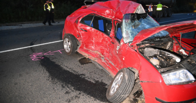 Halálos baleset történt Vác térségében