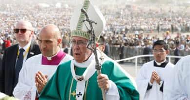 Testvérmegyénkbe látogat Ferenc pápa június 1-jén