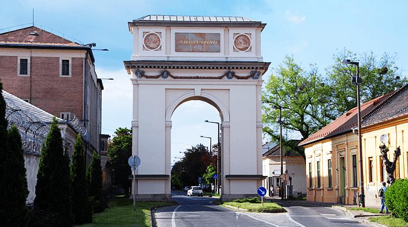 A váci diadalívet a legenda szerint két hét alatt építették fel – mondja a meteorológus