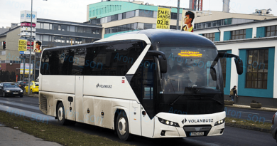 Új autóbuszokat közlekedtet a Volánbusz a váci térségben