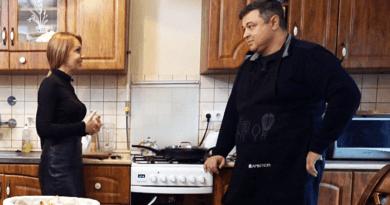 A konyhában is otthon van a Vácott élő publicista