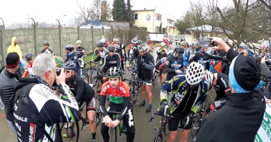 Egy kemény váci cyclocross versennyel kezdődik az év