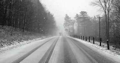 Kedden akár 15 centiméternyi hó is eshet a térségben