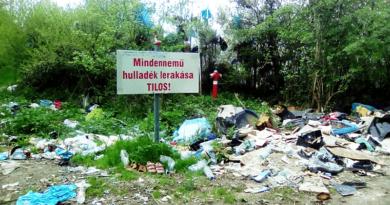 Jelentés a polgároknak: beüzemelik a hulladékudvart