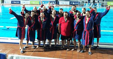 Masters Európa-bajnokok lettek Kranjban a váci vízilabdások