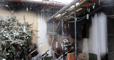 Kigyulladt a mosógép, leégett a ház teteje is