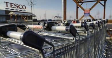 Környezetet véd a Tesco a váci áruházában is