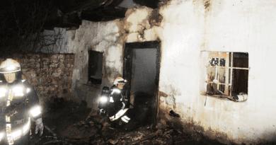 Kigyulladt egy öreg ház, egy ember bennégett